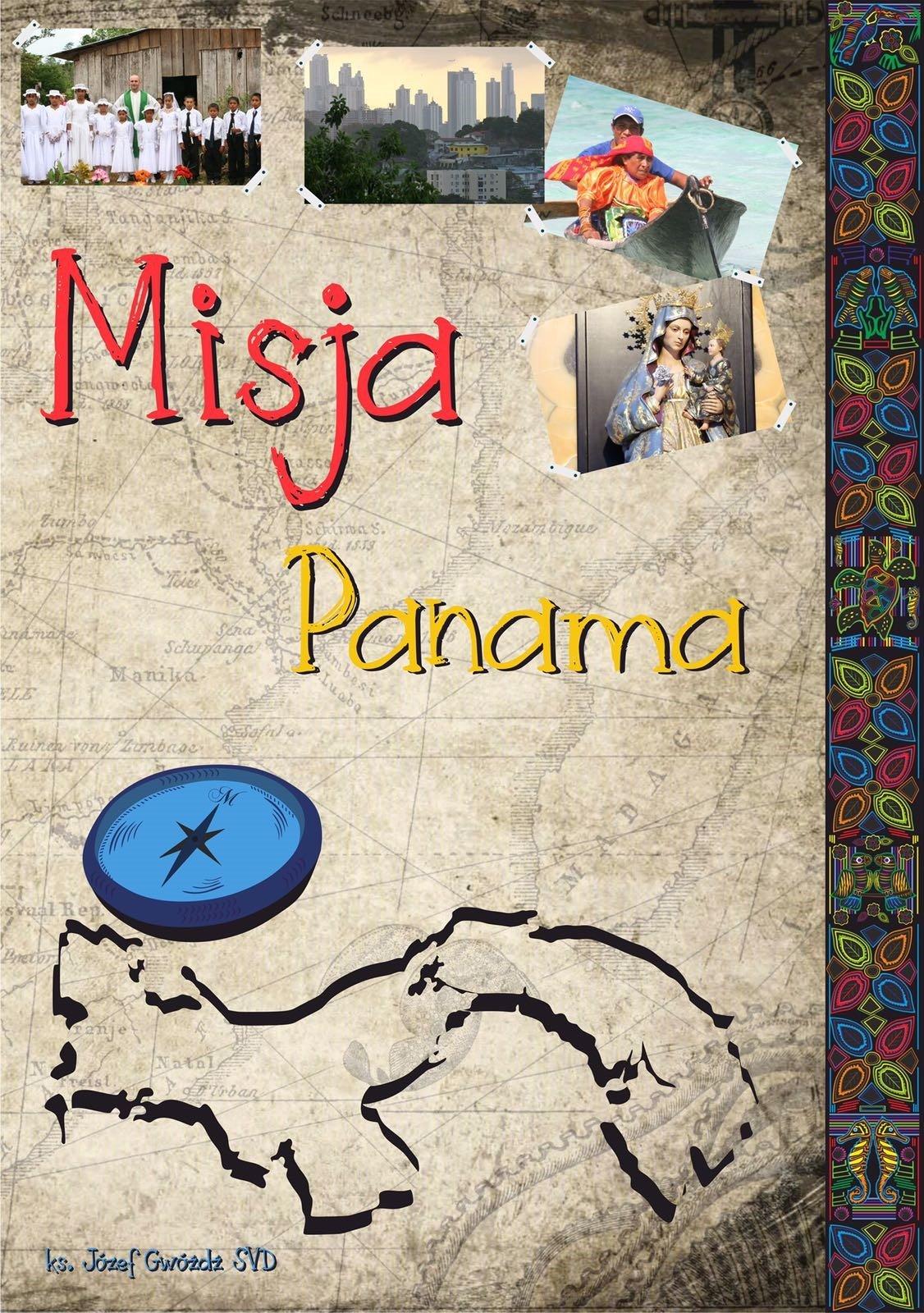 "Książka ""Misja Panama"""